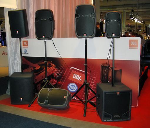 JBL´s nya EON högtalare