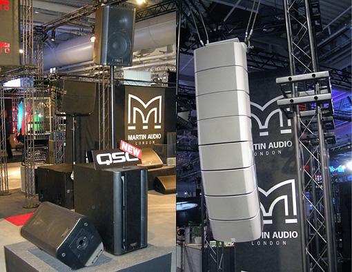 QSC och Martin Audio