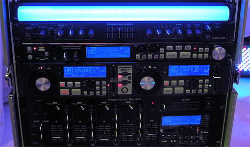 "American DJ Rack Color, 19"" LED rack lighting"
