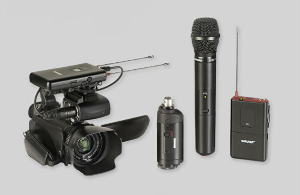 Shure FP wireless system
